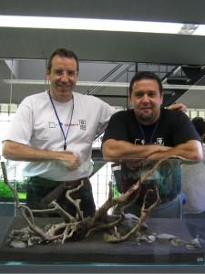 André Longarço e Luca Galarraga